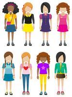 Anonieme jonge dames