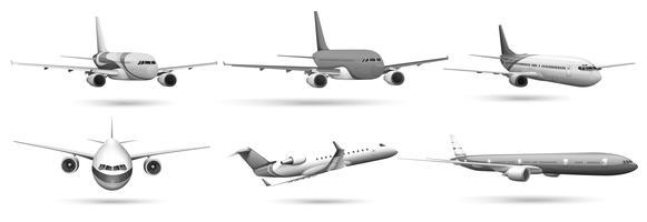 vliegtuigen vector