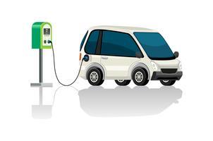Oplaadstation voor elektrische auto's