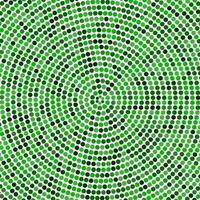 abstracte veelkleurige hypnotische achtergrond. vector illustratie