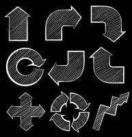 Verschillende symbolen vector