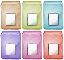 Tassen in verschillende kleuren