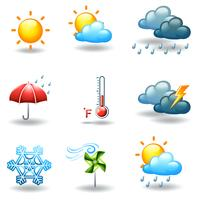 Verschillende weersomstandigheden