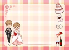 Huwelijk vector
