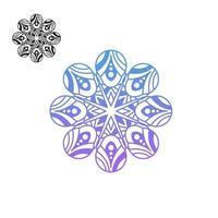 mandala bloemen vector