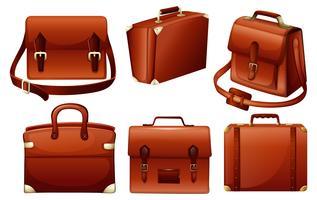Verschillende ontwerpen van tassen