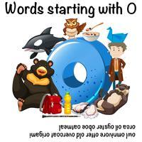 Woorden beginnend met letter O