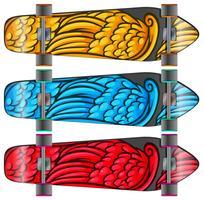 Kleurrijke borden vector