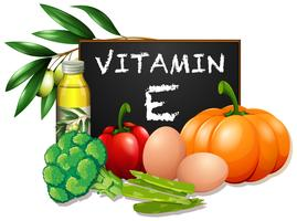 Voedingsmiddelen met vitamine E