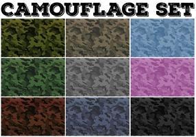 Camouflage met militair thema vector
