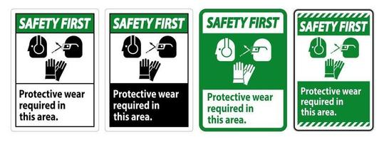 houd 6 voet afstand voor uw veiligheid vector