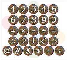 getallen vector