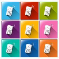 Communicatie pictogrammen vector