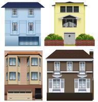 Verschillende bouwontwerpen