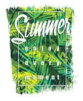 Vectorillustratie met de slogan voor t-shirts