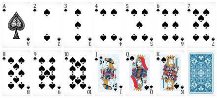 Pokerkaarten vector
