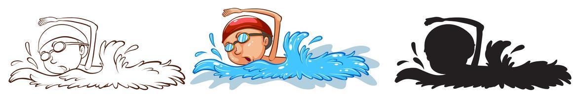 Zwemmer vector