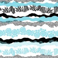 Vector zee naadloze patroon.