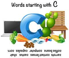 Woorden beginnend met letter C