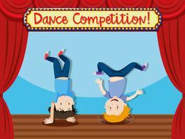 danscomptition mensen breakdancen