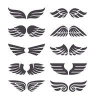 Set van Vector Wings