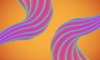 Kleurrijke abstracte vormachtergrond voor reclame, vectorillustratie