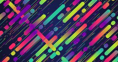 Kleurrijke strepenachtergrond, vectorillustratie vector
