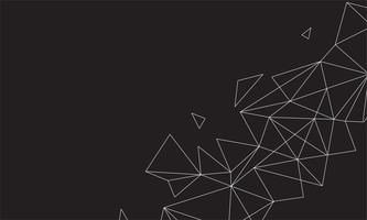 Abstracte veelhoekige kleurrijke achtergrond met verbonden punten en lijnen, verbindingsstructuur, futuristische hud achtergrond, hoge kwaliteit afbeelding met wazig delen