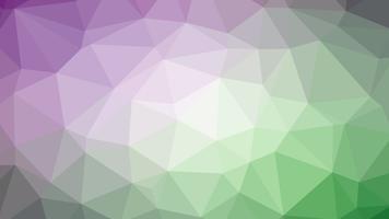 Kleurrijk veelhoekig verbindingsontwerp met, lage poly vectorillustratie