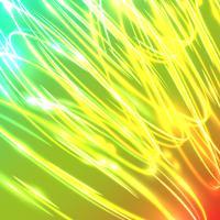 Neon onscherpe cirkels op een blauwe achtergrond, vectorillustratie.