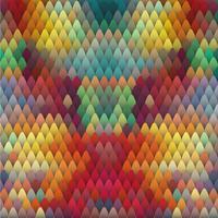 Kleurrijke abstracte achtergrond, vectorillustratie