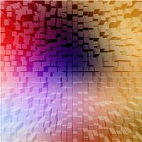 Abstracte achtergrond met kleurrijke blokken, vector