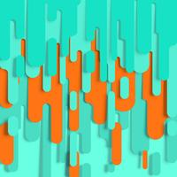Gelaagde abstracte achtergrond, vector