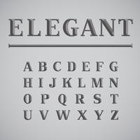 Elegant inktbesparingskarakter - minder inkt tijdens afdrukken, vector