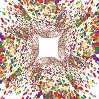 Kleurrijke stippen, vector