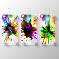 Vector glazen ontwerpsjabloon concept