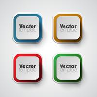 Kleurrijke vector sjabloon set