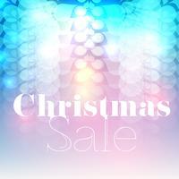 Kerst verkoop vector flyer / achtergrond