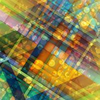 Kleurrijke abstracte achtergrond, vector