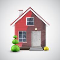 Home vernieuwing, vector