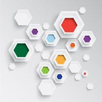 Bedrijfs abstracte achtergrond voor reclame vector