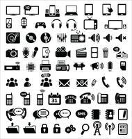 Media- en communicatiepictogrammen