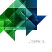 Moderne geometrische veelhoekige achtergrond vector