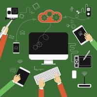 Apparatuur en gegevensopslag