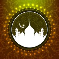 Abstracte Eid Mubarak-achtergrond