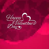 Moderne Happy Valentine's dag achtergrond