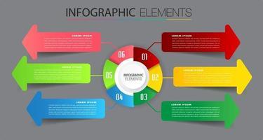 moderne tijdlijn tekstvaksjabloon, infographicsbanner vector