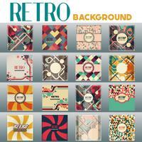 Oude retro vintage stijl achtergrond ontwerpsjabloon