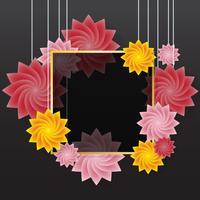 bloem Vector achtergrond