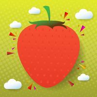 fruit Vector achtergrond